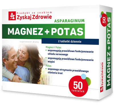 Asparaginum Magnez+Potas