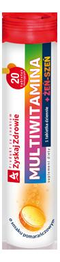 Multiwitamina + żeń-szeń