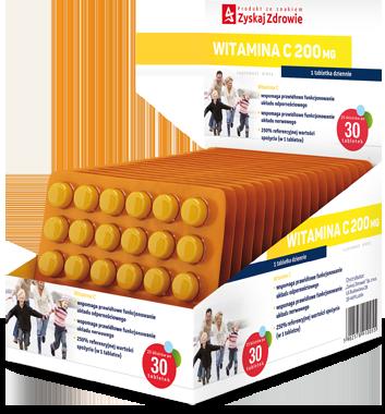 Witamina C 200 mg