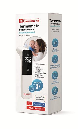 Termometr bezdotykowy na podczerwień